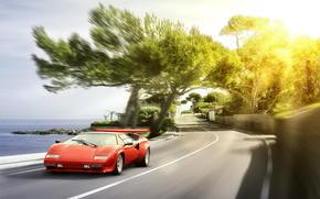 sole, Kauntach, Lamborghini, abbagliamento, Lamborghini