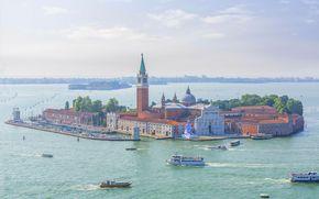 Venise, San Giorgio Maggiore, île