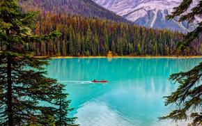 Yoho National Park, Alberta, CA, Emerald Lake