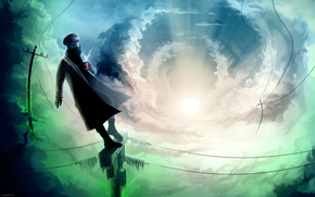 Капитан, Романтика Апокалипсиса, Небо