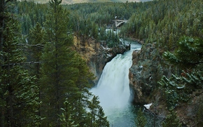Upper Falls, Grand Canyon, Yellowstone