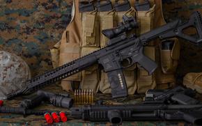 винтовка, карабин, штурмовая, оружие