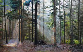artist S.Lutsenko, oil, picture, canvas