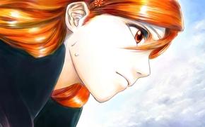 face, Orihime Inoue, girl