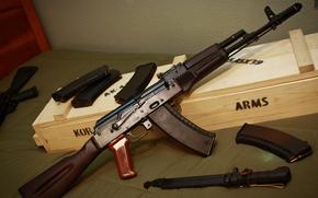 штык-нож, автомат, Калашникова, оружие