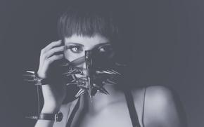 портрет, маска, шипы