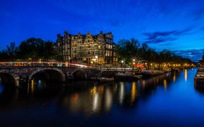 Amsterdam, Pays-Bas, Hollande