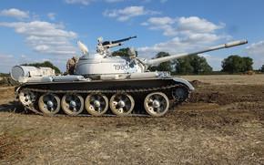 tanque, média, Tanque, Soviético