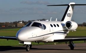 лёгкий самолёт деловой авиации, двухмоторный, американский, турбовентиляторный