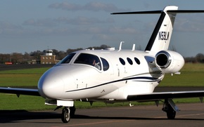 lekki samolot biznes, dwusilnikowego, Amerykański, turbofan