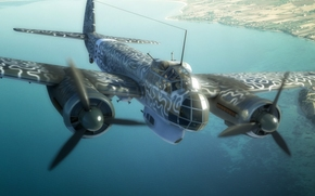 Art, multi-purpose aircraft, drawing