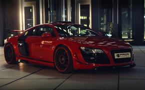 приор-дизайн, ауди, красная, Audi, машина