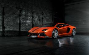 ламборджини, авентадор, Lamborghini