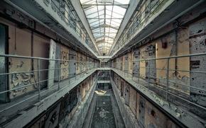 камеры, интерьер, тюрьма