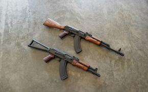 sfondo, Macchine, Kalashnikov, arma