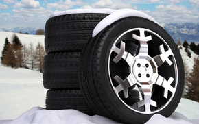 disk, bus, Art, snowflake, nature, Wheel, background, road, Winter, abstraction, Cast
