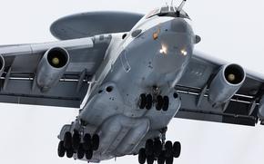 piano, radar, e controllo, Rivelazione, lontano, decollo, AWACS