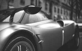 Supercars, fond, Gris