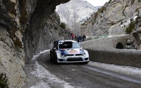 macchina, Sport, Montagne, Rocce, Volkswagen, Frontale