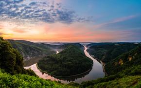 gyrus, Natural Park, Germany, RESORT, river