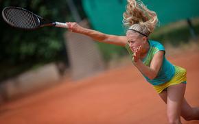 Julia Tim, racket, Giocatore di tennis tedesco