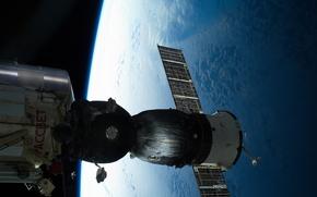 俄罗斯太空船, 工会, 空间, 地球, 俄罗斯航天局