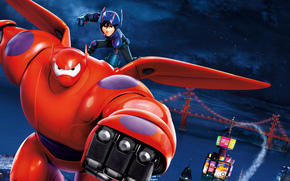 Big Hero 6, Kino
