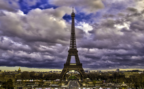 Paris, Eiffel tower, франция