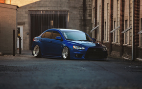 Wallpaper, Lancer, Mitsubishi, car, Evolution, Mitsubishi