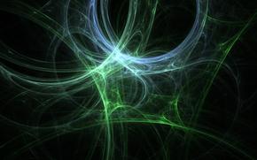 объем, паутина, структура, свет, линии