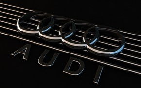 логотип, ауди