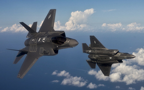 United States Air Force, The two fighters, Fifth-generation fighter, Inconspicuous, in the air