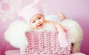 ребенок, новорожденный, лица