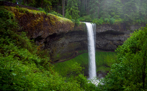 South Falls, Oregon, waterfall