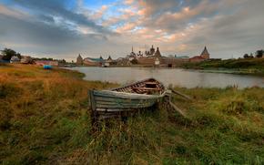 Соловецкий монастырь, Спасо-Преображенский, лодка
