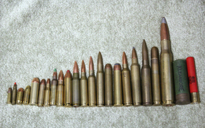 weapon, comparison, caliber, ammunition