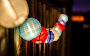 разноцветные, разное, деревянный, широкоэкранные, размытие, фон, светильники, обои, полноэкранные, свет, шар, широкоформатные