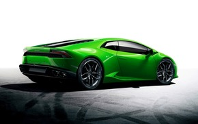 Автомобиль, Lamborghini, Уракан, Ламборгини, Зеленый