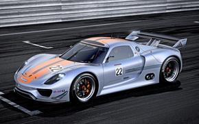 Porsche, Porsche, carta da parati, Concetto, macchina