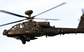 helicopter, sky, the United States Army, main, impact