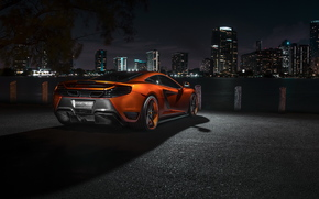 night, McLaren, avtooboi, Supercars, city