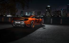夜, 迈凯轮, avtooboi, 超级跑车, 城市