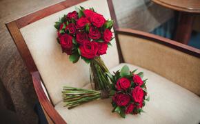 wedding, Roses, bouquet