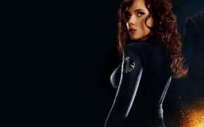 actress, girl, Scarlett Johansson, The Avengers