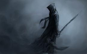 braid, background, Art, death, hood