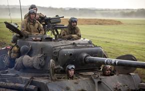 "pole, Brad Pitt, ""Rage"", dramat, załoga, tank"