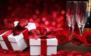 Roses, Fiori, rose rosse