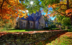 Belén, New Hampshire, otoño, árboles, paisaje