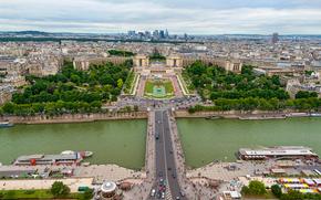 Sekwana, Paryż, Francja, miasto