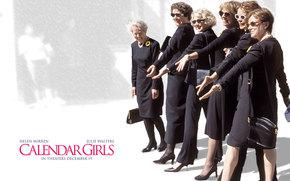 Girls from the calendar, Calendar Girls, film, movies
